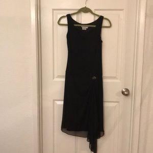 Maggy London Sz 10P drop waist dress rhinestone